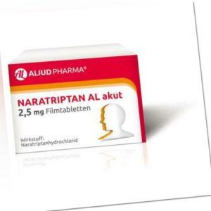 NARATRIPTAN AL akut 2,5 mg Filmtabletten 2 St PZN 9312936
