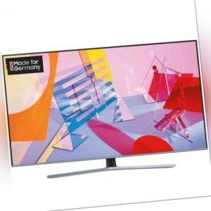 Samsung GQ75Q64TGUXZG 75 Zoll 4K-QLED-TV, Smart TV, Sprachassistent, Fernseher