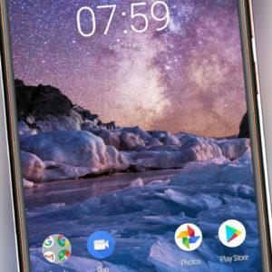 Nokia 7 Plus Single Sim Black Copper # AU