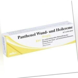 PANTHENOL Wund- und Heilcreme Jenapharm 20 g 08814541