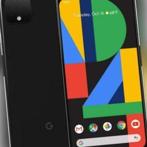 "Google Pixel 4 64GB just black LTE Android 5,7"" OLED Display 16 Megapixel eSim"