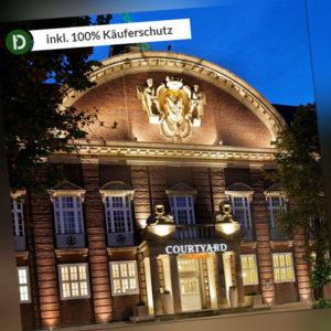 2 Tage Kurzurlaub in Bremen im Courtyard by Marriott mit Frühstück