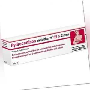 HYDROCORTISON ratiopharm 0,5% Creme 30 g 09703312