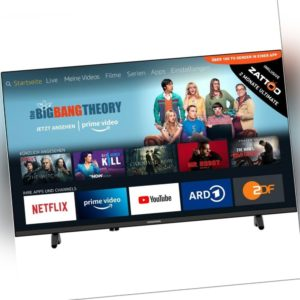 Grundig 43 GFB 6070 Fire TV Edition 108 cm 43 Zoll DVB-T2-HD/-C/-S2 Triple-Tuner
