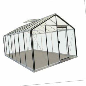 Treibhaus Gewächshaus R307H-B ACD Glashaus Pflanzenhaus Aluminium Glas Anzucht