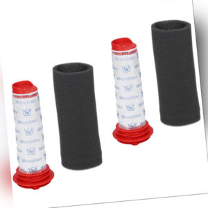 Filter Set 2 Zentralfilter , 2 Schaumfilter für Bosch BCH6PETGB/01 Athlet 25,2V
