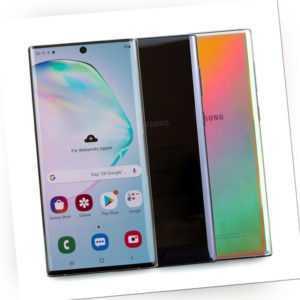 Samsung Galaxy Note 10+ Plus 5G Single Sim Aura Glow Aura Black...