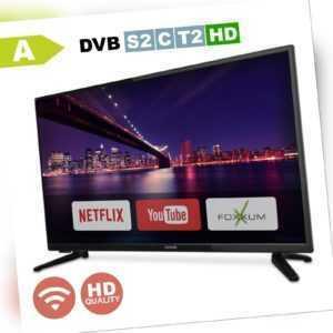 DENVER 32 Zoll Fernseher SmartTV 81cm WLAN Netflix TripleTuner HDMI DVB HD Ready