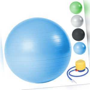 Gymnastikball mit Luftpumpe 300kg Belastbarkeit Beine Berstsicher 65cm 75cm 85cm