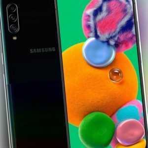 Samsung A908 Galaxy A90 5G schwarz 128GB LTE Smartphone 5G AMOLED ...