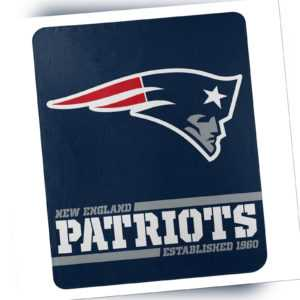 New England Patriots Fleece Decke Split Wide