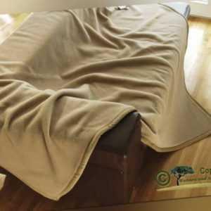 Edle Wolldecke 100% Kaschmir/Kaschmirdecke Kamel 220
