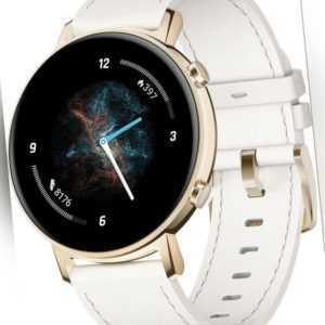 Huawei Watch GT 2 Diana weiß amen Fitness Sport Uhr iOS Android Smartwatch