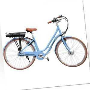 E-Bike Saxonette Style Plus 28'' Retro Pedelec 120km Reichweite 7 Gang Rücktritt