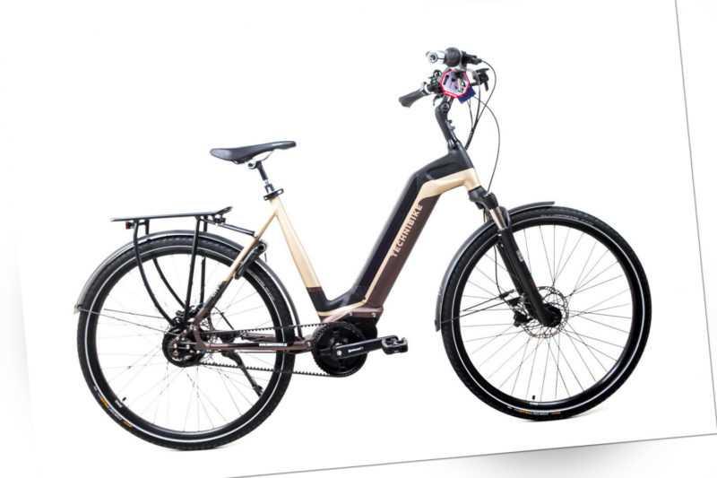 28 Zoll TechniBike City Pedelec E Bike Riemen N330 Nu Vinci Continental  Gr.L
