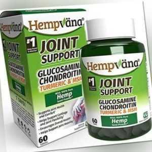 Glucosamin Chondroitin Hempvana Triple Strength Gelenk Unterstützung Ergänzung