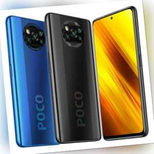 "Xiaomi POCO X3 NFC 6GB 128GB Handy 6,67"" 64MP 5160mAh Dual SIM EU..."