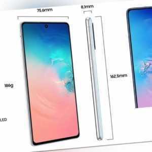 Samsung Galaxy S10 Lite SM-G770F Android Smartphone 16.95cm...