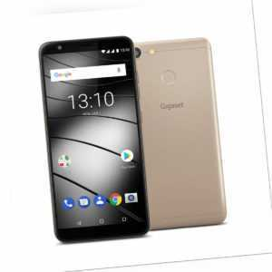 Gigaset GS280, Golden Topas 5,7 cm (Zoll), Full HD+ Display 18:9, 32GB Speicher