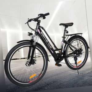"""26"""" E-Bike 36V 250W Elektrofahrräder 8AH Pedelec mit Lithium-Akku und Ladegerät"""