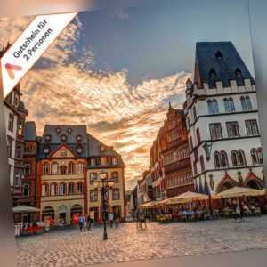 Kurzurlaub Trier zentrales Design Hotel Gutschein 4 Tage 2 Personen + Frühstück