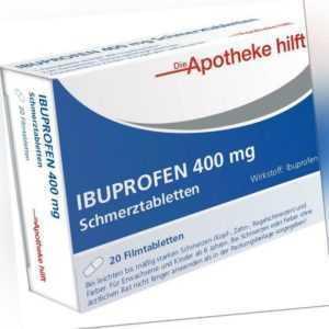 IBUPROFEN 400 mg   Filmtabletten   20 st   PZN14190180