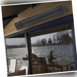 Terrassenstrahler Dunkelstrahler eurom Outdoor Rc  1800watt inkl. Fernbedinung