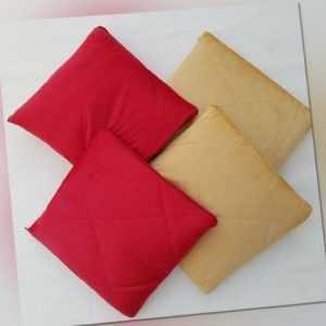 2 Verwandlungskissen 35x35cm Decke Kissen Kuscheldecke 135x200 cm