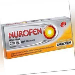 NUROFEN Immedia 200 mg Weichkapseln 10St Weichkapseln PZN 146519