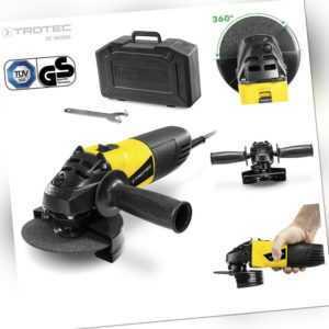 TROTEC Winkelschleifer PAGS 10-115 | Trennschleifer | Scheibe ø 115 mm | 500 W