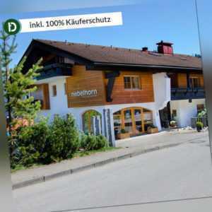 6 Tage Urlaub in Obermaiselstein im Allgäu im Hotel Nebelhorn mit Frühstück