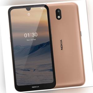 Nokia 1.3 Dual-SIM Smartphone mit 16GB Speicher, Android 10, sand