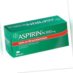 Aspirin N 100mg 98stk PZN 05387239