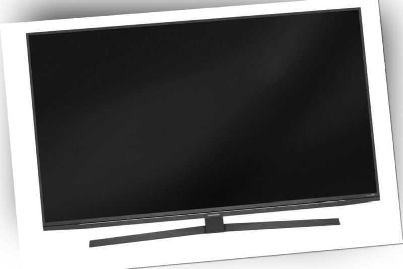 Grundig 49 GUA 8000 Manhatten Fernseher 49 Zoll Smart TV 4K UHD HDR EEK: A