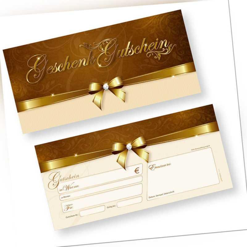 Geschenkgutscheine (25 Stück) Gutscheine für Firmen, Restaurant, Beauty etc.