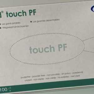 MaiMed® touch PF Einmalhandschuhe Einweghandschuhe aus Latex, puderfrei 100 Stck