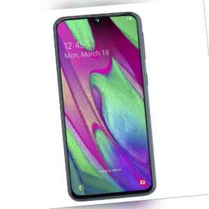 Samsung Galaxy A40 64GB Schwarz, Smartphone (SM-A405FZKDDBT, Dual...