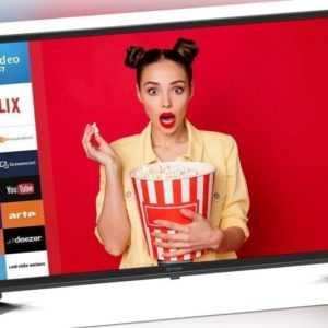 DYON SMART 32 XT LED-TV  (31,5 Zoll, HD-ready, Smart Portal, Hotel-Modus)