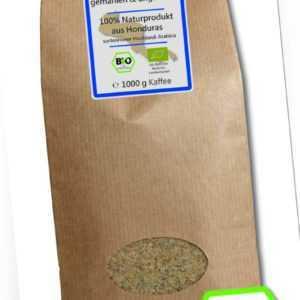 Grüner Kaffee Bio gemahlen - Rohkaffee Honduras 1kg - Green Coffee