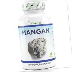 MANGAN 365 Tabletten vegan 10mg - Mangan-Bisglycinat essentielles Spurenelement