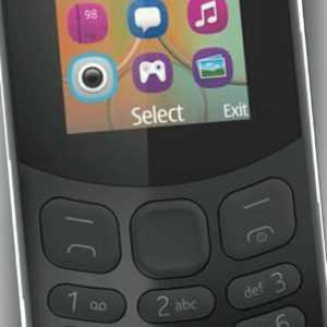 Nokia 130 (2017) Schwarz Single-SIM, TOP Zustand