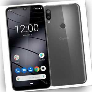 Gigaset GS190 16 GB titanium grey Android Smartphone Handy ohne Vertrag