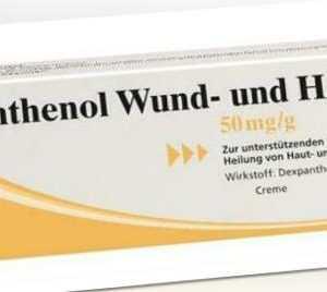 Panthenol Wund- und Heilcreme JENAPHARM 20 g PZN: 8814541