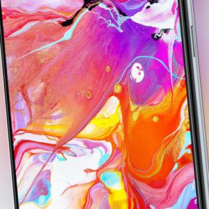 Samsung A705F Galaxy A70 DualSim weiß 128GB LTE Android Smartphone...