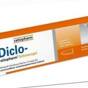 Diclo - ratiopharm Schmerzgel 150 g PZN: 10929990