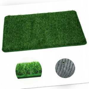 Eingansmatte Fußabstreifer Kunstrasen Gras Matte Grün verschied. Größe & Mustern