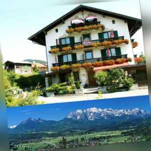 4 Tage für 2 Personen Kurz Urlaub im 3 Sterne Hotel Alpenhof Wallgau Oberbayern