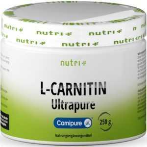 L-Carnitin Tartrat Pulver Carnipure - Höchste Reinheit - Fettverbrennung + Diät