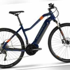 "Pedelec 28"" Haibike SDuro Cross 5.0 E-Bike Yamaha 500Wh 70Nm Trekking RH48 Damen"