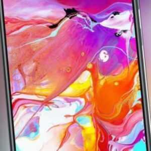 Samsung Galaxy A70 Duos A705FN/DS schwarz - TOP ZUSTAND -...